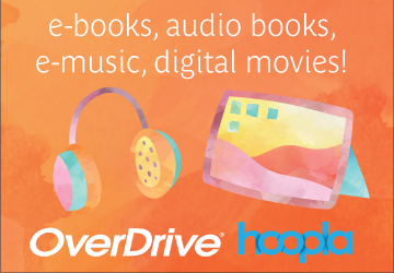Rent e-books, audio books, e-music, digital movies