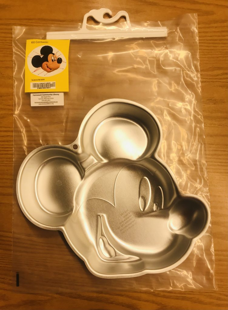 Mickey Mouse Baking Pan - Fairmount Community Library Special Item