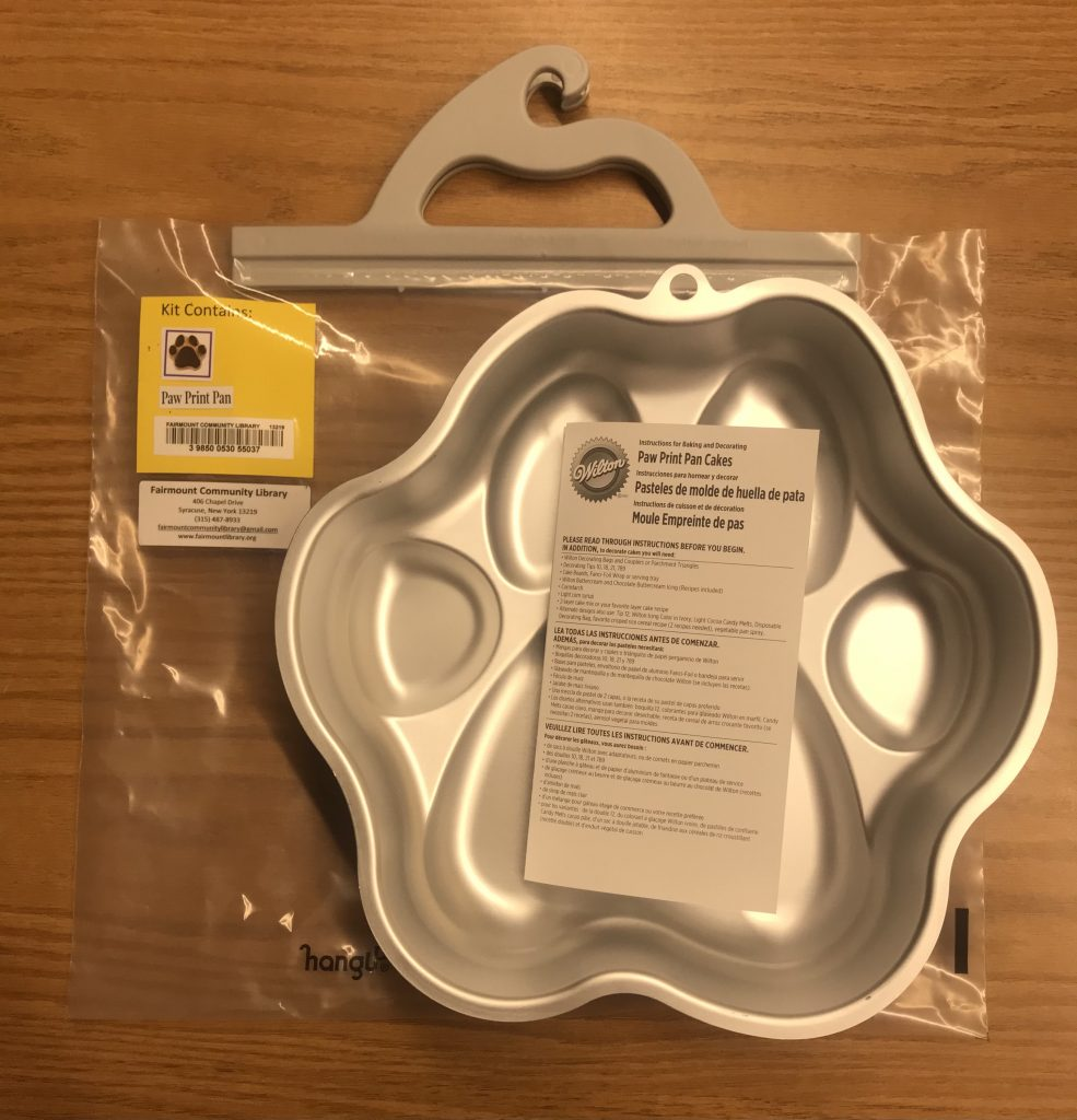 Paw Print Pans - Fairmount Community Library Special Item
