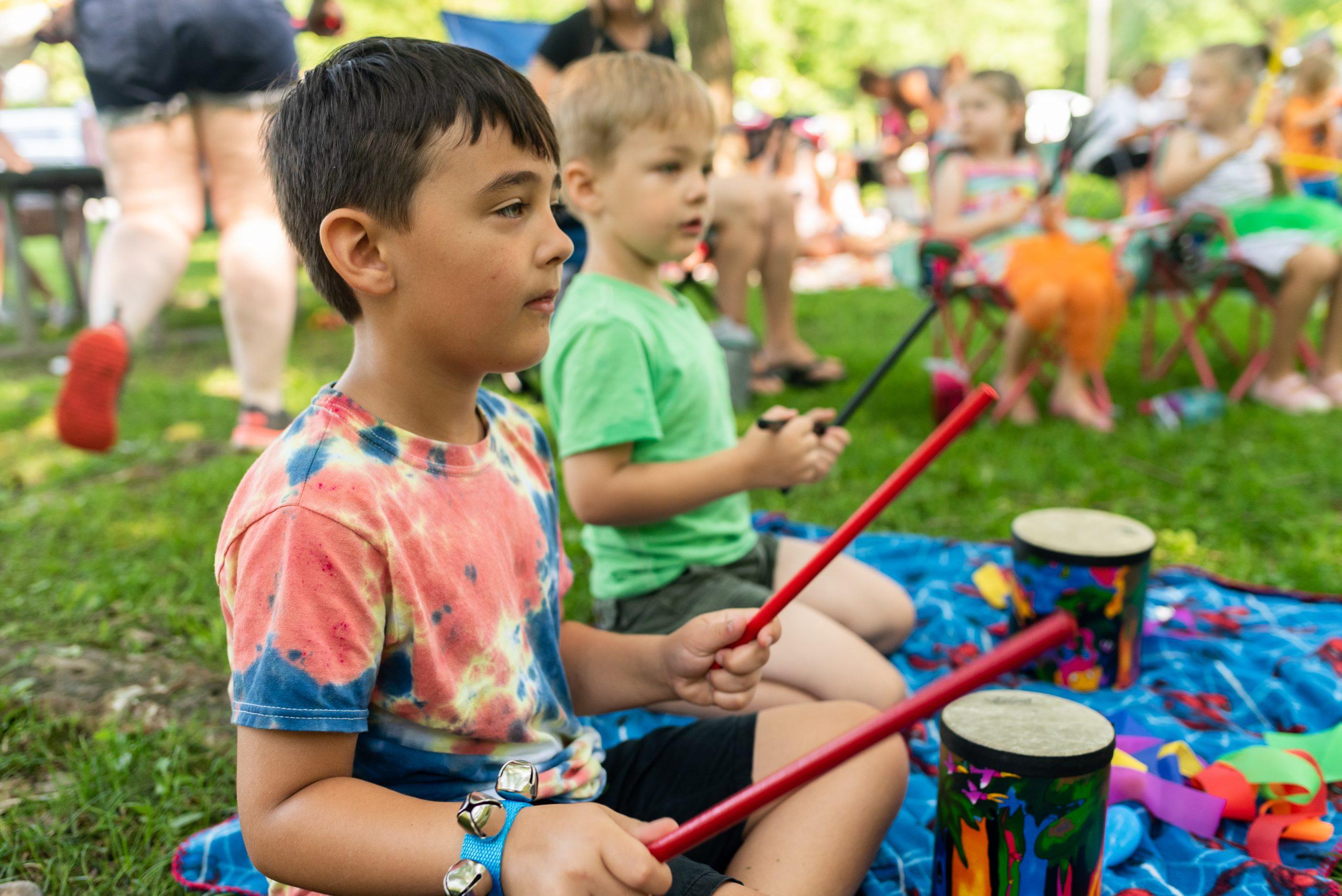 Fairmount Community Library Music is Magic program for kids