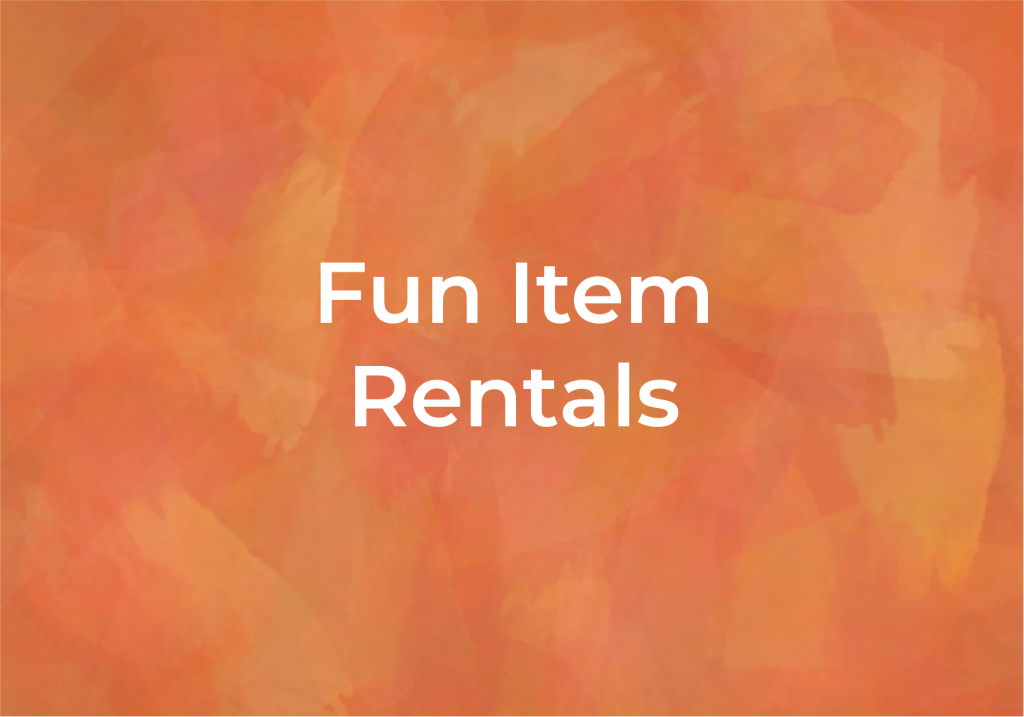 Fun Items for rent, at Fairmount Community Library, FCL, in Fairmount, Camillus, Syracuse, New York