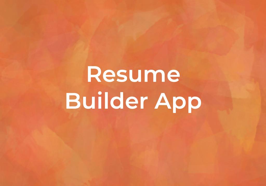 Resume Builder App, Local Job resources at Fairmount Community Library, FCL, in Fairmount, Camillus, Syracuse, New York